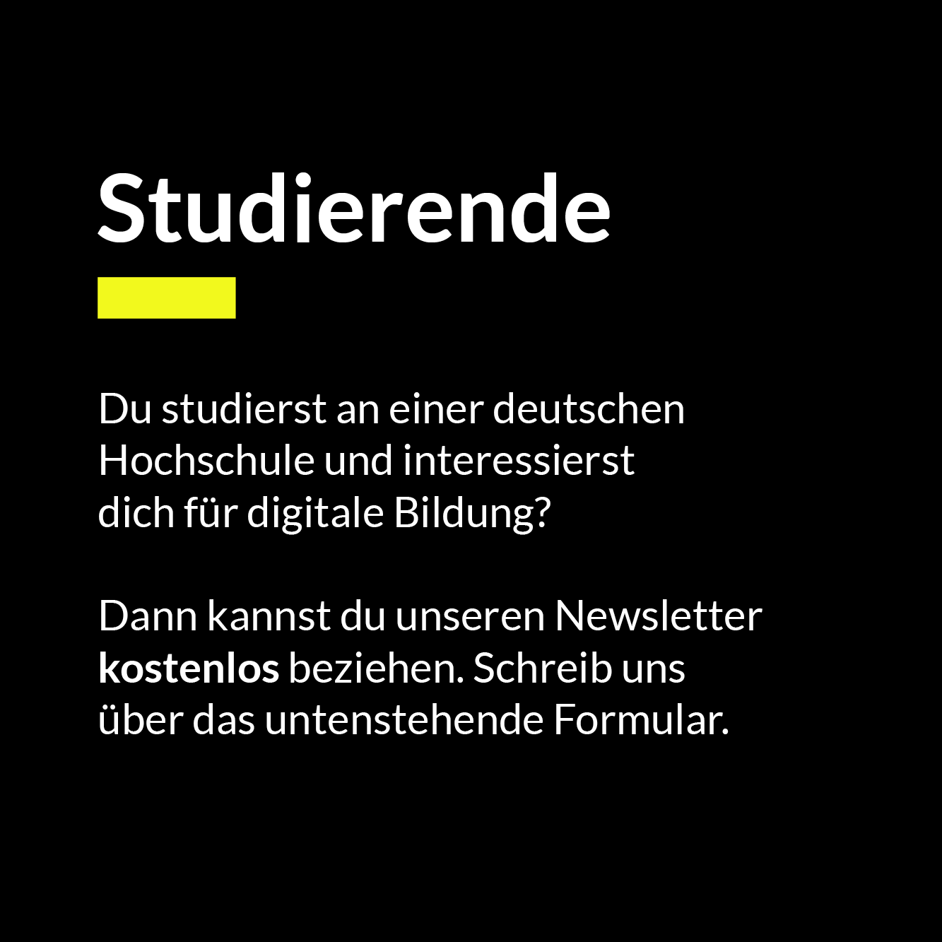 journal7 für Studierende